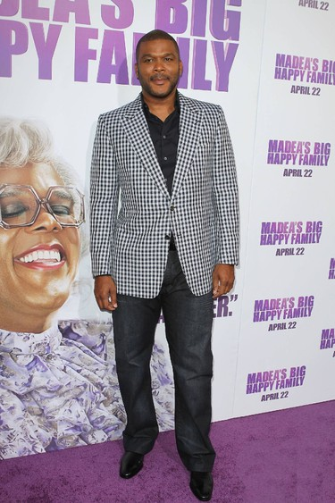 Tyler Perry Los Angeles Premiere of 'Tyler Perry's Madea's Big Happy Family' held At The Arclight Cinemas Hollywood, California (FayesVision/WENN.com)