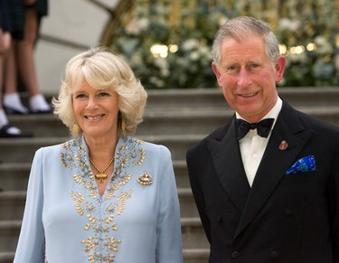 William's father, Prince Charles, Prince of Wales and his step-mother Camilla, Duchess of Cornwall. (Photo Pool/Anwar Hussein Collection/WENN.COM)