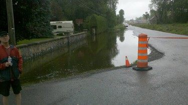 Thank you to RICHARD LABRIE, who submitted this submitted photo of the effect of torrential Gatineau rains at Morley-Waters and Clarence streets on Saturday, June 25, 2011.