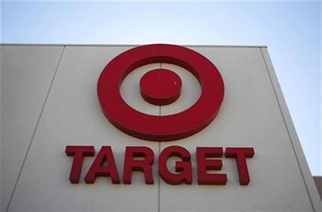 The logo of a Target store is seen in Arvada, Colorado February 24, 2009. (Reuters/Rick Wilking)