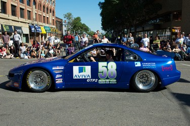 Members of the Northern Alberta Sports Car Club brought their race cars out for the Capital EX Parade in downtown Edmonton, Alberta on July 21, 2011. The club has races planned during Edmonton Indy race weekend. IAN KUCERAK/EDMONTON SUN/QMI AGENCY
