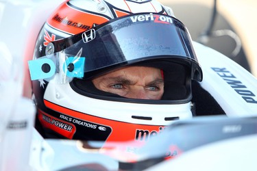 Will Power during the first practice session for the Edmonton Indy, Saturday July 23, 2011.  DAVID BLOOM EDMONTON SUN  QMI AGENCY