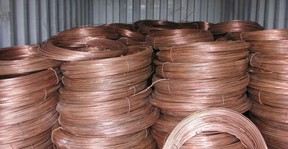 Copper wiring like this was stolen from three different locations in the past month, said police. Two men are in custody in connection with the thefts. (QMI Agency files)