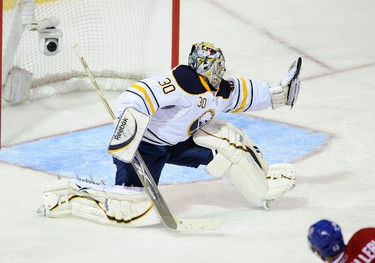 30. Ryan Miller, Buffalo Sabres: Considered by some the best goalie in NHL but couldn¹t get Sabres out of first round. (JOCELYN MALETTE/QMI Agency)