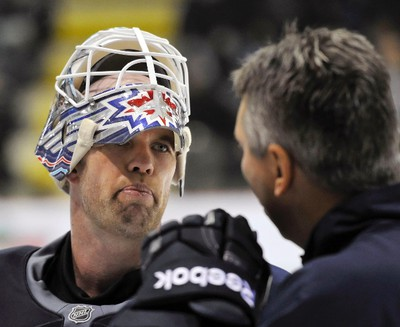 CHRIS MASON Born: April 20, 1976 Place: Red Deer, Alta. Junior: spent three seasons with the WHL's Prince George Cougars, between 1994 and 1997 Drafted: fifth round, 122nd overall, in 1995 by the New Jersey Devils Notable: has a career goals-against average of 2.63 and a save percentage of .911 … has also played in Nashville, St. Louis and Atlanta … Miikka Kiprusoff was also drafted in the fifth round of the 1995 draft, six spots ahead of Mason.