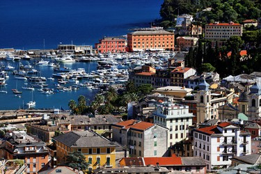 Portofino, Italy: Save some cash and hop on a water taxi to nearby Santa Margherita, with amazing cuisine and cozy bed and breakfasts at a fraction of the price of Portofino's restaurants and accommodations. (Shutterstock)