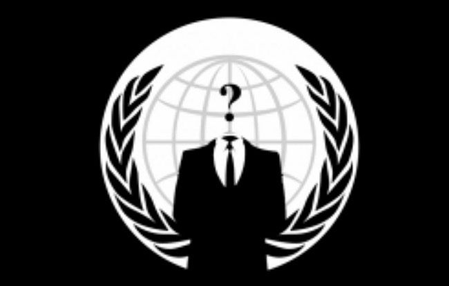 Anonymous logo - 7 ways