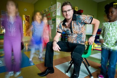 President of The Quebec Association of Private Daycare Centres, Sylvain Lévesque. The private day cares will shorten their hours of operation (and may even completely close) to protest against underfunding.(CHANTAL POIRIER/QMI Agency)