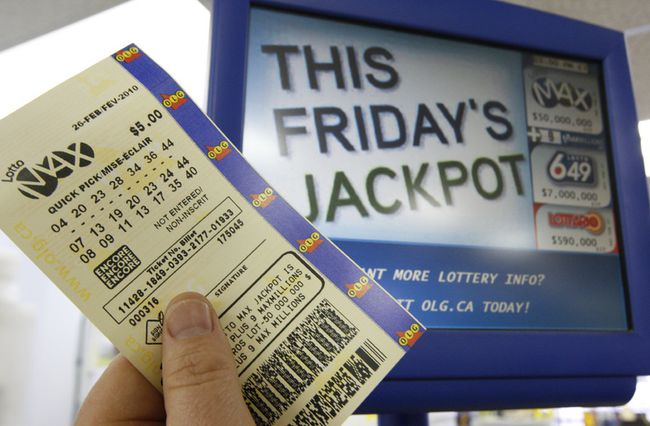how to check lotto max ticket manually