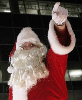 Thousands of people gathered in downtown Ottawa to take in the annual Santa Claus Parade in 2011.   Tony Caldwell/Ottawa Sun/QMI Agency