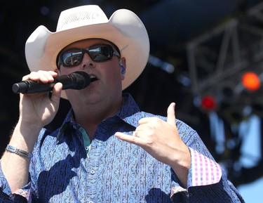Gord Bamford will be among the stars performing at the Capital Hoedown Country Music Festival in Ottawa in August 2012. (File photo)