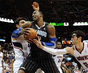 Trade talks could heat up as teams contemplate maneuvering into position for next year's free agents, including Dwight Howard. (REUTERS)