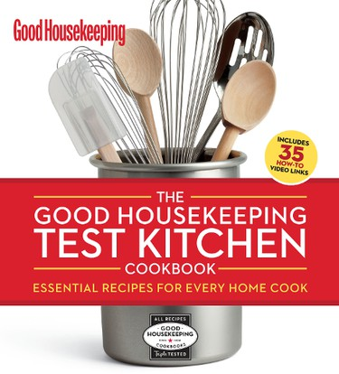 The new Good Housekeeping cookbook has 375 recipes, 275 photos and complete nutritional analysis for every dish. (Supplied)