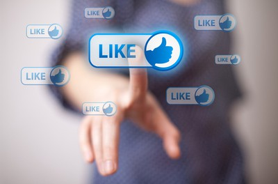 """Word/phrase: Like. Meaning: An online sign of affection derived from the """"like"""" button on Facebook, YouTube and other online communities. ie. """"I like you, but I don't 'like' you."""" (Shutterstock)"""