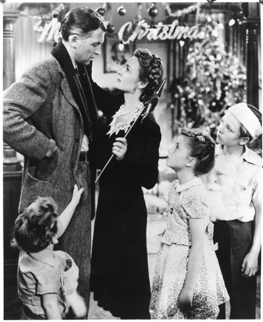 """BEST: """"It's A Wonderful Life"""" (1946). PLOT: A frustrated family man is shown how the world would be if he hadn't been born. CRITICS SAY: One of the most heartwarming scenes in film is when George Bailey (James Stewart) realizes how wonderful his life is and runs through his town screaming like a madman."""