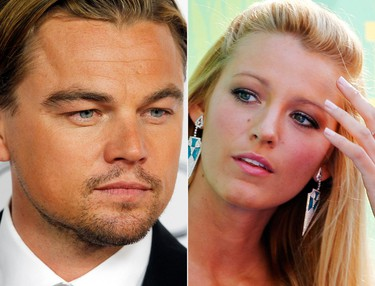LEONARDO DICAPRIO AND BLAKE LIVELY AND BAR RAFAELI AND OTHERS TOO NUMBEROUS TO MENTION Fortunately, nobody gives a stuff. (REUTERS)