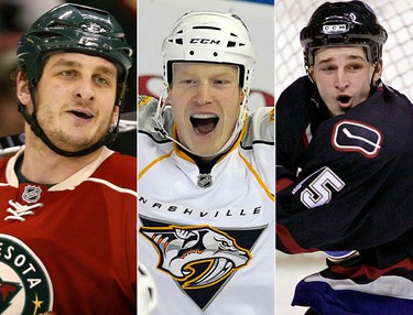 The NHL offseason was shocking to say the least.  The deaths of Derek Boogaard, Wade Belak and Rick Rypien – all enforcers in the league who were known mostly for their fighting, raised concerns about their roles on the team and the roles of other players in the same position. It was only after the deaths of Belak and Rypien that people found out about severe depression the two had suffered and hidden so well. Last month, studies revealed that Boogaard suffered a degenerative brain disease which raised even more concerns about fighting in hockey. (REUTERS)