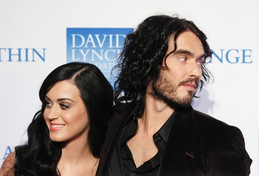 KATY PERRY AND RUSSELL BRAND After just over a year of marriage, Katy Perry and Russell Brand called it quits. The bad boy of British comedy filed for divorce, citing the ever-popular 'irreconcilable differences' on Dec. 30. (Reuters file photo)