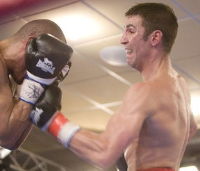 Adam Trupish is perfecting an upper-body twist to avoid punches. (Edmonton Sun file)