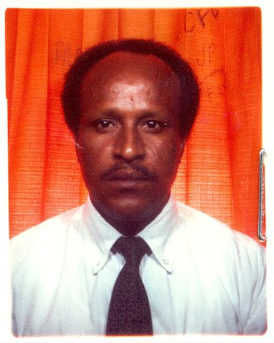 Name: DEMIYE, Ali Mohamed  Alias: No information on file  Gender: Male  Date of Birth: 1956-05-02  Place of Birth: Somalia  Last Known Address: Toronto, Ontario  Identifying Features: No information on file   This individual is the subject of an active Canada-wide warrant for removal because he is inadmissible to Canada. It has been determined that he violated human or international rights under the Crimes Against Humanity and War Crimes Act or under international law.