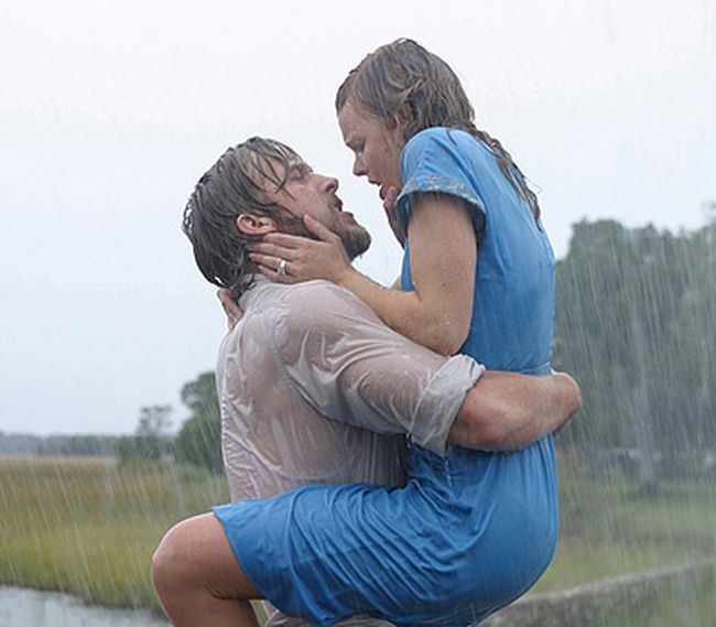 "<b>Best reunion kiss:</b> The Notebook. After Allie and Noah's congenial catch-up, the past lovers get caught in a (sexy) rainstorm -- then Noah lays it out: ""It wasn't over for me, it's still not over."" Who could keep themselves from kissing him after a line like that?  (<a href=""http://www.wenn.com"" target=_blank>WENN.com</a>)"