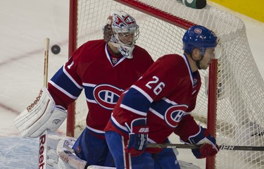 The Senators take on the Canadiens in Montreal, January 14, 2012. PIERRE-PAUL POULIN/QMI AGENCY