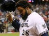 Free agent first baseman Prince Fielder is likely waiting on the Rangers to see if they sign Japanese pitcher Yu Darvish. (REUTERS/Jeff Haynes/Files)