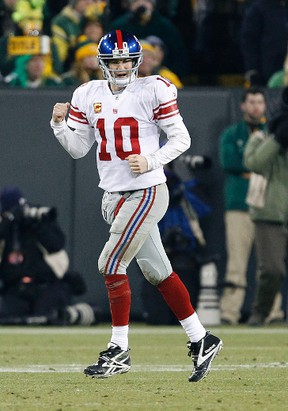 Eli Manning spoke to New York a radio station about his brother Peyton potentially joining the Jets. (US Presswire)