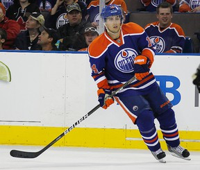 Jordan Eberle is excited about heading to Ottawa this weekend for the All-Star game. He was notified of his inclusion in the roster on Monday. (Edmonton Sun file)