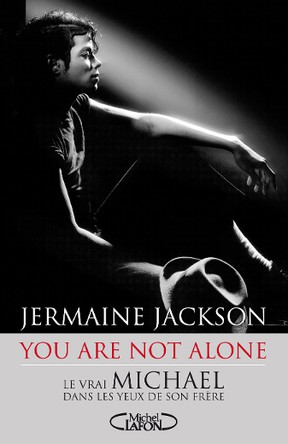"""The cover of Jermaine Jackson's """"You Are Not Alone."""""""
