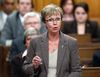 Interim New Democratic Party leader Nycole Turmel speaks during Question Period in the House of Commons on Parliament Hill in Ottawa January 30, 2012.    REUTERS/Chris Wattie