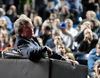 Blue Jays president Paul Beeston addresses a crowd of season-ticket holders during the team's annual state of the union gathering at Rogers Centre Monday night. (Dave Abel/Toronto Sun)