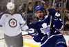 Leafs' forward Clarke MacArthur winces every time he hears a trade rumour linking him to another club. (DAVE ABEL/Toronto Sun)