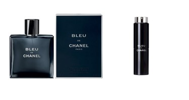 Chanel Bleu: Chanel Bleu is a mix of citrus and woods that's fresh, clean and sensual.  ($65 for 50mL, $86 for 100mL and $73 for the Travel Spray, available at Murale and Shoppers Drug Mart)