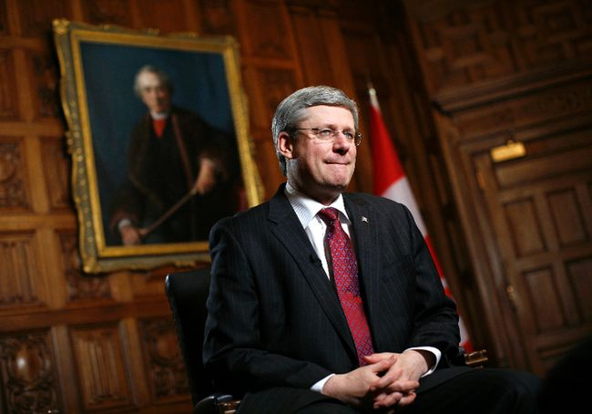 Prime Minister Stephen Harper is seen in Ottawa February 3, 2012.  REUTERS/Chris Wattie