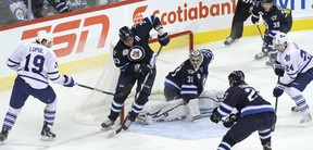 Teams will need to play three or four times a week to get the schedule done by the end of April, and the playoffs will then last for two months and wrap up at the end of June. (JASON HALSTEAD/WINNIPEG SUN files)