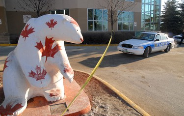 A male who was found stabbed at Canad Inns Polo Park before 2 a.m. Feb. 14, 2012 has died, while a second male remains in hospital. (COURTESY STAN MILOSEVIC)