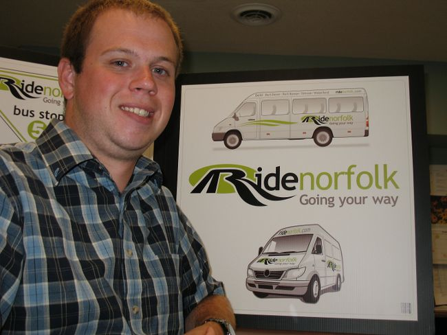 Ride Norfolk currently serves Simcoe, Port Rowan, Delhi, Waterford, Port Dover and Langton.