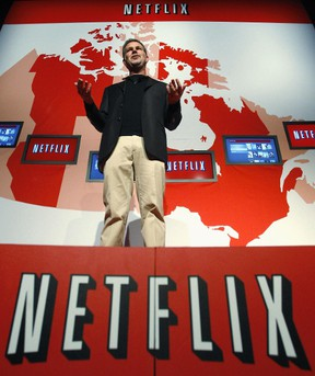 Netflix Chief Executive Officer Reed Hastings.   REUTERS/Mike Cassese