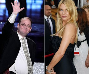 Marc Cherry and Nicollette Sheridan (AFP photos)