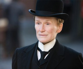 Glenn Close stars in Albert Nobbs, playing at the Sarnia Library Auditorium Sunday and Monday. SUBMITTED PHOTO/ THE OBSERVER/ QMI AGENCY