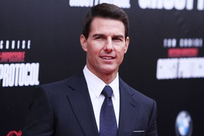 Tom Cruise is seen at the premiere for the latest Mission: Impossible film, Ghost Protocol, in this December 2011 file photo. (WENN.com)