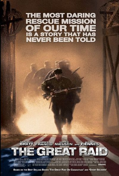 13. The Great Raid (August 2005). BUDGET: $80,000,000. BOX OFFICE: $10,769,311. NET LOSSES INFLATION ADJUSTED: 82,383,222. (Handout)