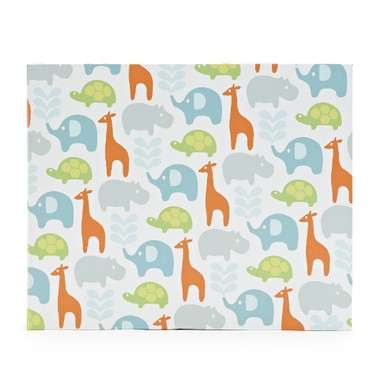 First book: Help mom keep precious baby memories forever with an adorable journal and album. There's even an ink pad to capture hand and foot prints. Safari Print Baby Book, $39.50. Available at Chapters.indigo.ca.  (Supplied)