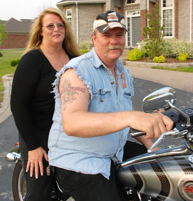 Craig Short, is on trial for the murder of his wife Barbara Short, 48. The couple are seen here in a file photo at their St. Clair Township home.