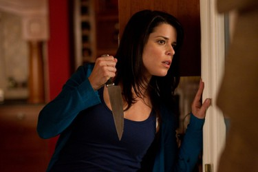 "Scream 4 (2011). BOX OFFICE: $97,138,686. DIRECTOR: Wes Craven. STARRING: Neve Campbell, Courteney Cox, David Arquette. SEQUEL SEWAGE: Set 11 years after the events of ""Scream 3"", this film found Sidney Prescott (Neve Campbell) once again being terrorized by Ghostface. Audiences didn't seem to care (the box office was a disappointment) and plans for a new trilogy appear to be DOA."