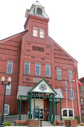 Seaforth's historic town hall
