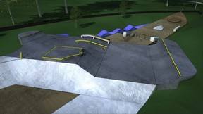 LANDInc. has worked in partnership with Port Colborne's mayor's youth advisory council and local skateboarders and BMX riders to design this nautical-themed skatepark to be built at Lock 8 Park.
