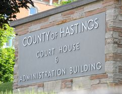 Intelligencer file photo Hastings County is requesting public input on its draft official plan. Four public meetings, across the county, have been scheduled for this month and next.