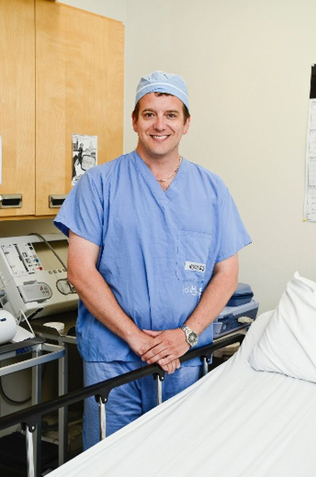 Kingston cardiologist Dr. Chris Simpson.